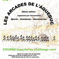 Arcades, Aqueduc, Milly-la-Forêt